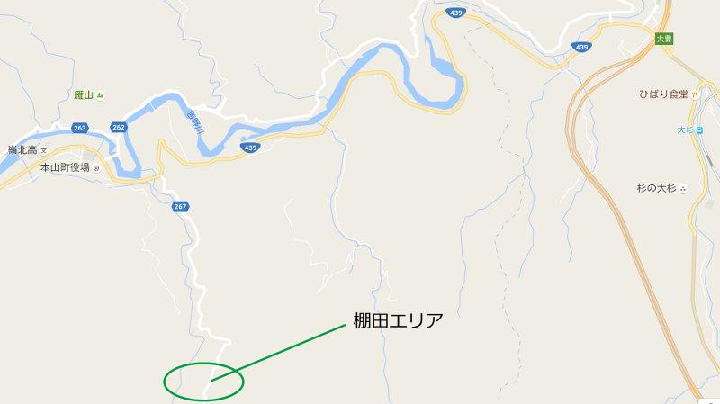 棚田アクセス