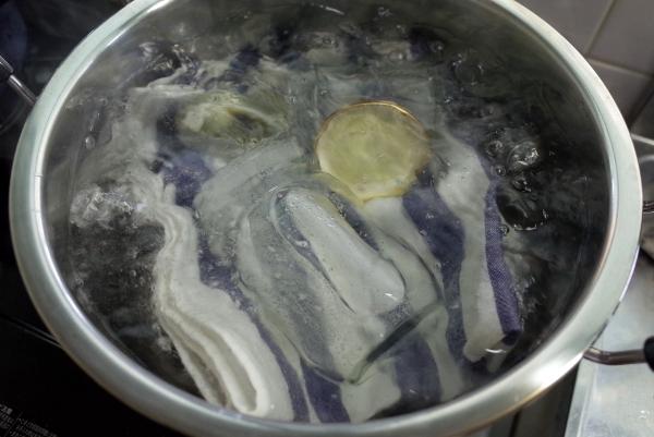 煮沸消毒1