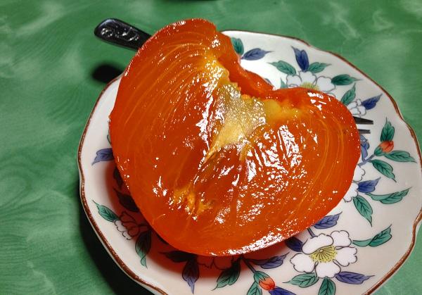 渋柿の熟し